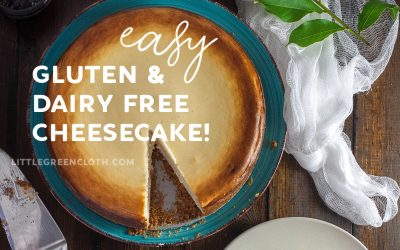 Modifying a Family Cheesecake Recipe to be Gluten Free and Dairy Free