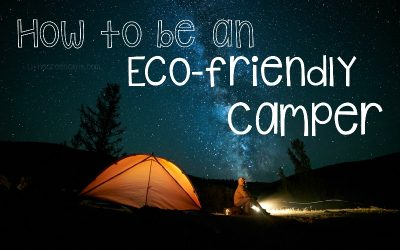 Norwex and the Outdoors: How to Become an Eco-Friendly Camper