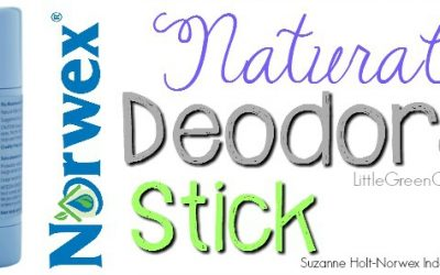 Check Out the New, Easy-to-Use Norwex Natural Deodorant Stick!!