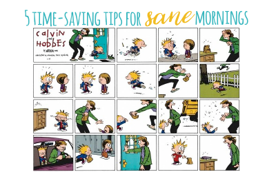 5 Time-Saving Tips to Get Out the Door Fast