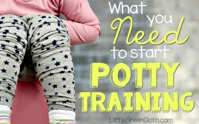 What you Need to Start Potty Training!