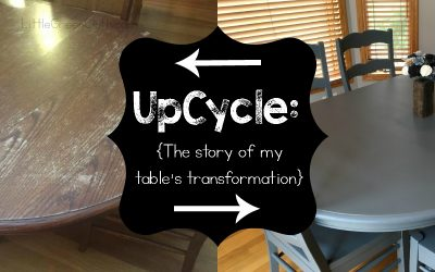 Upcycle: The Story of my Table's Transformation!
