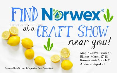 Find Norwex at a Spring Craft Show Near YOU!