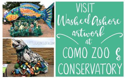 Visit Norwex Partner Washed Ashore's Artwork at Como Zoo this Summer!