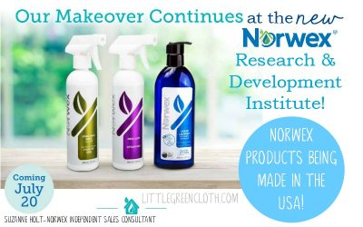 New Norwex Products Are Being Made at the Research and Manufacturing Institute in the USA!