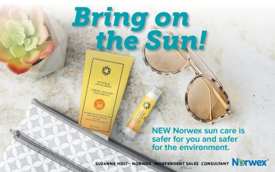 Soak in the Sun, not the Chemicals with Norwex Natural Sunscreen and Lip Balm!