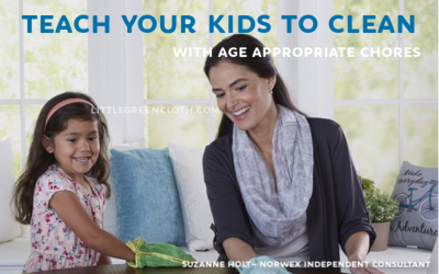 Use this Kids' Chore List to Teach Them to Clean!