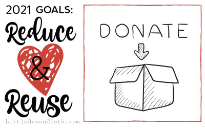 2021 Goals: Reduce and Reuse with the Give Back Box!