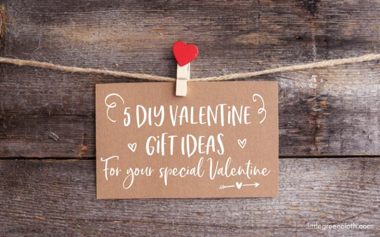 5 DIY valentine Gift ideas for your Valentine