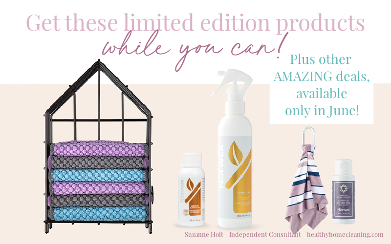 Get 4 Limited Edition Norwex Products through June's Customer Specials!