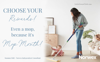 June is MOP MONTH with Norwex - Get a FREE Norwex Mop!
