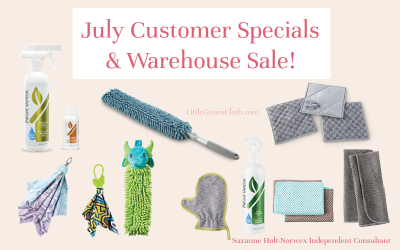 July Customer Specials & warehouse sale