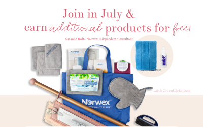 Join Norwex in July and earn bonus products for FREE!