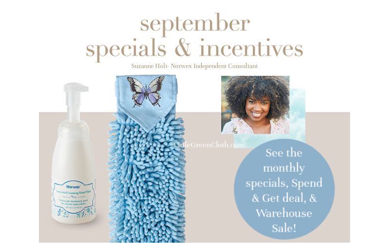 Kick Off September with all of Norwex's Sales and Deals!
