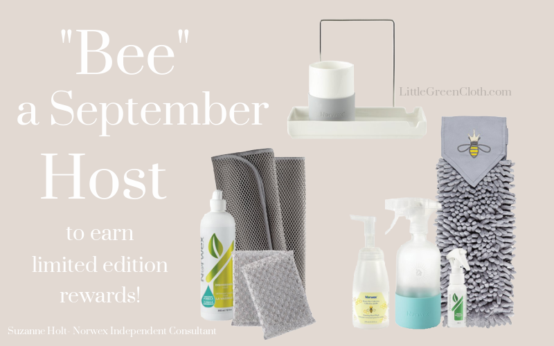 """""""Bee"""" a September Norwex Host to Earn Limited Edition Rewards!"""